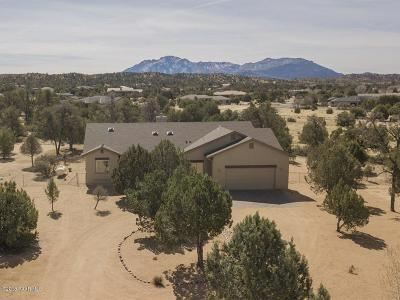 Prescott Single Family Home For Sale: 13500 N Warpaint Place