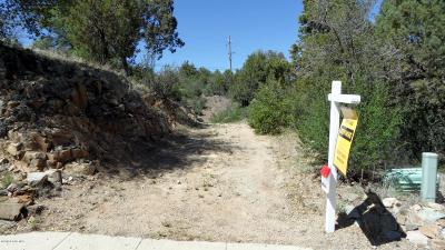 Prescott, Prescott Valley, Chino Valley, Dewey-humboldt Residential Lots & Land For Sale: 1778 Rolling Hills Drive