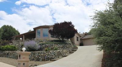 Prescott AZ Single Family Home For Sale: $599,000