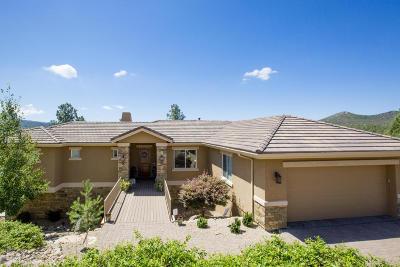 Prescott AZ Single Family Home For Sale: $649,900