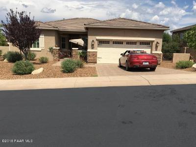 Prescott AZ Single Family Home For Sale: $473,900