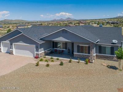 Prescott Valley Single Family Home For Sale: 9485 N Snapdragon Drive
