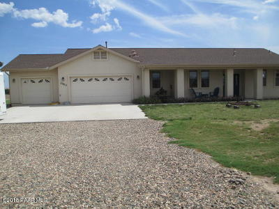 Paulden Single Family Home For Sale: 2969 W Pilots Rest Airstrip