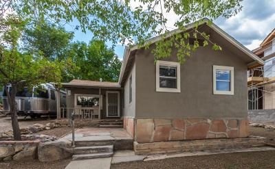 Prescott Single Family Home For Sale: 630 1st Street