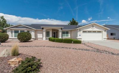 Prescott Valley Single Family Home For Sale: 7112 E Granite Peaks