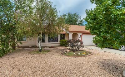 Viewpoint (Prescott Valley) Single Family Home For Sale: 7352 E Scenic Way