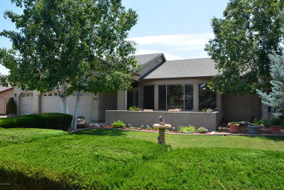 Prescott Valley Single Family Home Pending - Take Backup: 7845 E Big Star Trail