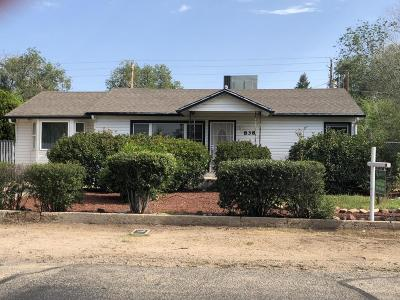 Prescott Single Family Home For Sale: 838 Flora Street
