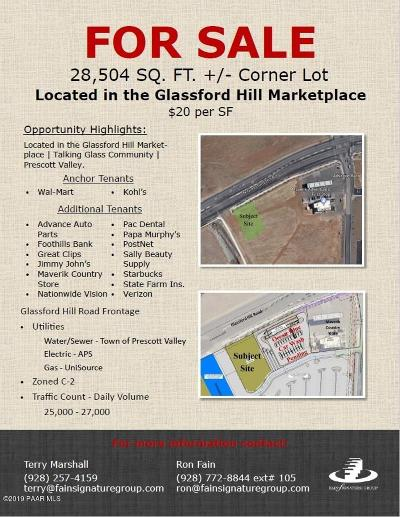 Prescott Valley Residential Lots & Land For Sale: N Glassford Hill Road