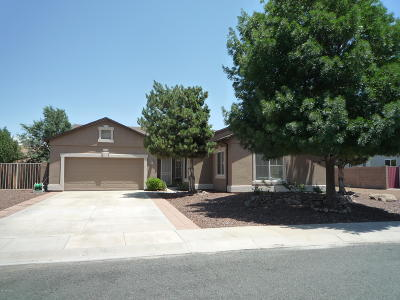 Prescott Valley Single Family Home For Sale: 7741 N Siesta Sunset Lane