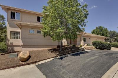 Prescott Single Family Home For Sale: 1631 Granite Springs Drive
