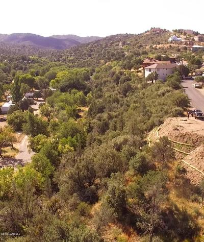 Prescott Residential Lots & Land For Sale: 315 Canyon View Street