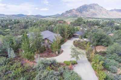 Prescott Single Family Home For Sale: 2647 W Twinoaks Drive