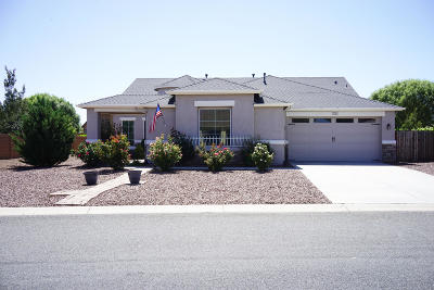Prescott Valley Single Family Home For Sale: 7733 E Mesteno Road
