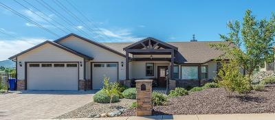 Prescott Single Family Home For Sale: 351 Milky Way