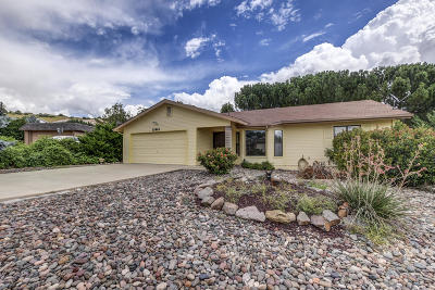 Dewey-Humboldt Single Family Home For Sale: 10942 E Old Black Canyon Highway