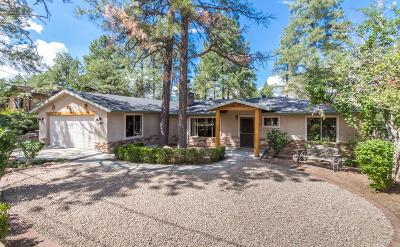 Prescott Single Family Home For Sale: 1006 Country Club Drive