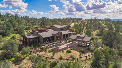 Prescott AZ Single Family Home For Sale: $1,375,000