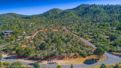 Prescott Residential Lots & Land For Sale: 2074 S Sheriffs Posse Trail