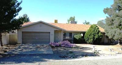 Dewey-humboldt Single Family Home For Sale: 10983 Singletree Trail
