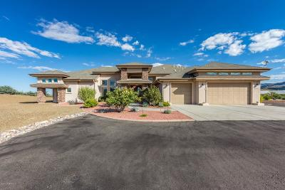 Yavapai County Single Family Home For Sale: 14922 E Crystal Rock Road