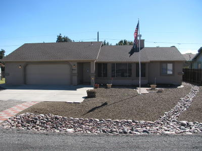 Prescott Valley Single Family Home For Sale: 8315 E Manley Drive