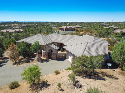 Yavapai County Single Family Home For Sale: 5700 W Durene Circle
