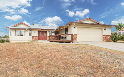 Prescott Valley Single Family Home For Sale: 5481 N Lone Drive