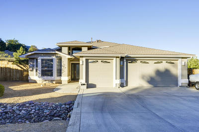 Prescott Valley Single Family Home For Sale: 9234 E Swift Trail Drive