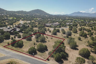 Prescott, Prescott Valley, Chino Valley, Dewey-humboldt Residential Lots & Land For Sale: 5455 W Bruno Canyon Drive