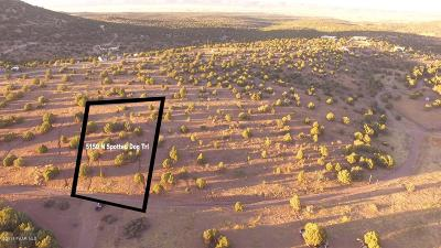 Prescott, Prescott Valley, Chino Valley, Dewey-humboldt Residential Lots & Land For Sale: 5150 N Spotted Dog Trail