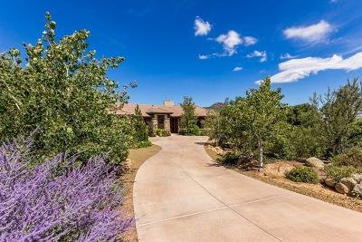 Prescott, Dewey-humboldt, Prescott Valley, Chino Valley Single Family Home For Sale: 2102 Forest Mountain Road