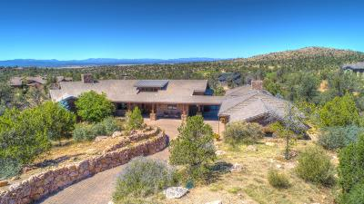 Prescott Single Family Home For Sale: 11950 Wild Bunch Way