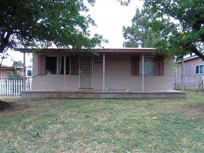 Mayer Single Family Home For Sale: 12881 Central Avenue