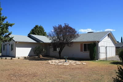 Prescott Valley Single Family Home For Sale: 4049 N Tonopah Drive