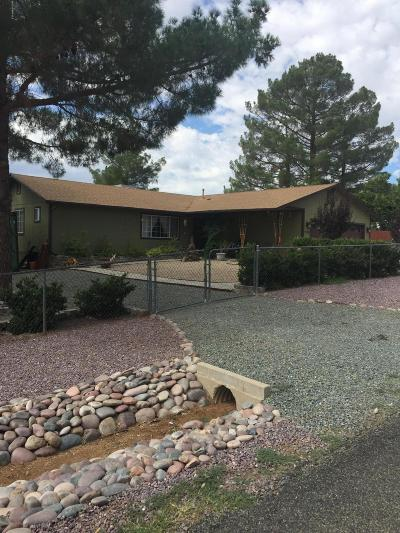 Mayer Single Family Home For Sale: 17509 E Jackrabbit Road