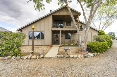 Yavapai County Single Family Home For Sale: 5524 N Concho Drive