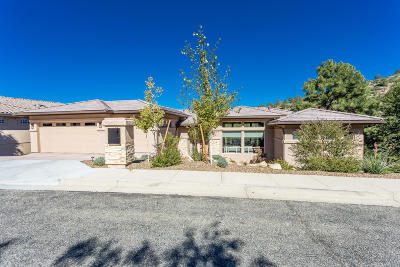 Prescott AZ Single Family Home For Sale: $835,000