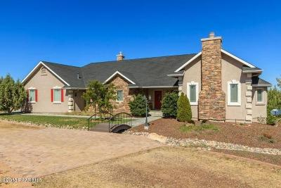 Prescott Single Family Home For Sale: 4300 W Friendly Meadow Road