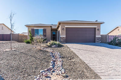 Prescott Valley Single Family Home Pending - Take Backup: 7141 Roque Lane