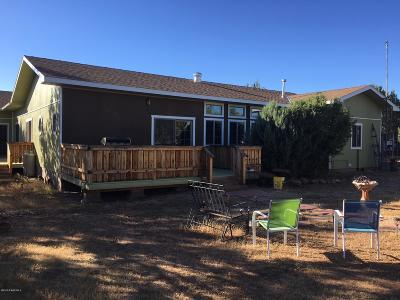 Seligman Single Family Home For Sale: 37526 W Howling Coyote Road