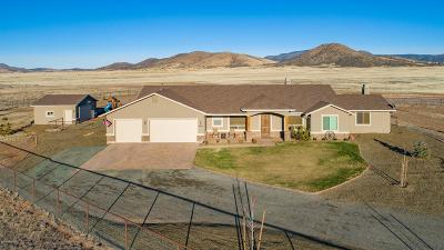 Prescott Valley Single Family Home For Sale: 9970 E Pronghorn Lane