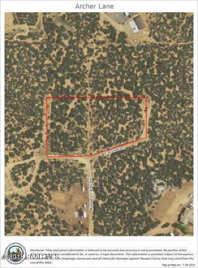 Dewey-humboldt Residential Lots & Land For Sale: Archer Lane