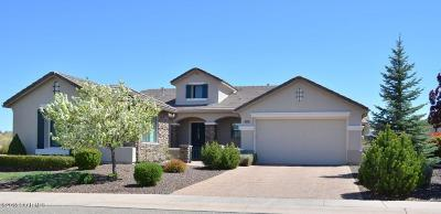 Prescott Single Family Home For Sale: 1371 Divinity Drive