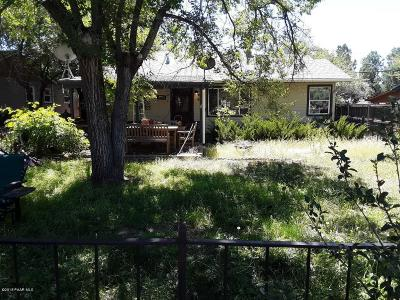 Prescott Single Family Home Pending - Take Backup: 731 Flora Street