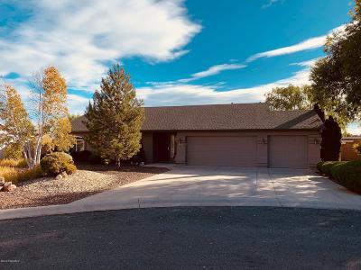 Prescott Valley Single Family Home For Sale: 7681 N Sage Vista