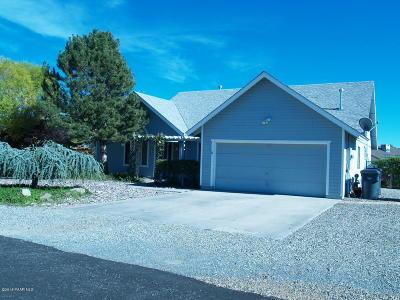 Prescott Valley Single Family Home For Sale: 4633 N Granada Drive