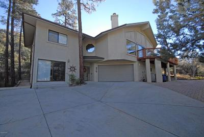 Prescott Single Family Home For Sale: 1425 Valley Ranch Circle