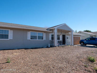 Prescott Valley Single Family Home For Sale: 4335 N Verde Vista Drive