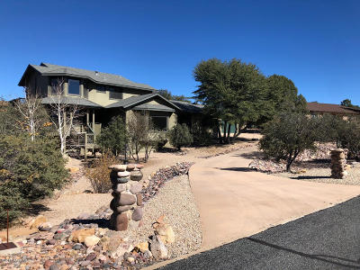 Prescott AZ Single Family Home For Sale: $575,000